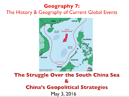Map Of South China Sea by Lecture Slides On The South China Sea And China U0027s Geopolitical