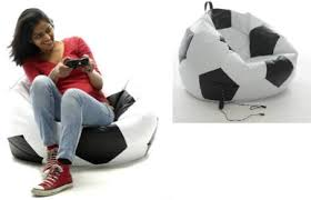 Bean Bag Gaming Chair Football Bean Bag Extremely Unique For Kids