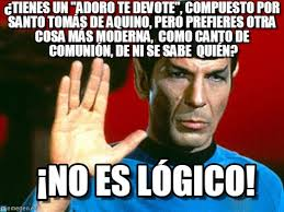 Spock Memes - no es lógico 5 spock meme on memegen