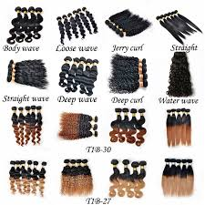 body wave vs loose wave hair extension natural color body wave hair unprocessed human hair extension