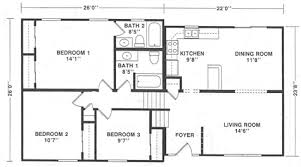 split level house plan deer view homes split level floor plans
