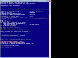 commande bureau a distance windows 2012 server r2 administration