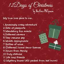 12 days of christmas nextgen milspouse edition nextgen milspouse