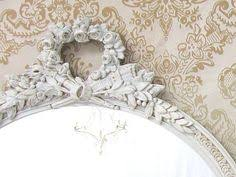 french country mirrors for sale oval shabby chic mirror 33x21