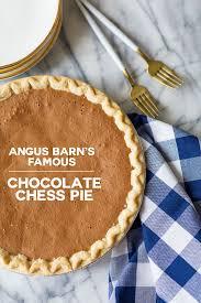 angus barn chocolate chess pie recipe pizzazzerie