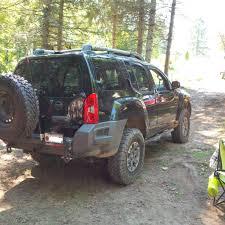 nissan xterra lifted off road nissan xterra sec gen rear bumper