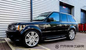range rover sport custom wheels range rover sport tdv8 with 22