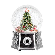 spode tree 5 5 inch tree musical snow globe spode usa