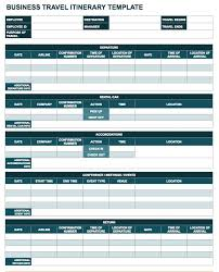 itinerary template google doc business plan template