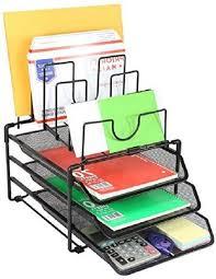 Black Mesh Desk Organizer Black Mesh Desk Organizer Desktop Accessories Office Supplies File