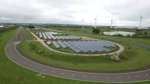 nissan leaf yearly electric cost nissan uk solar farm to help power nissan leaf factory cleantechnica