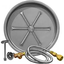 Gas Fire Pit Parts by Propane Fire Pit Burner Kit Fire Pit Ideas