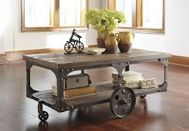 rustic coffee table with wheels youtube marylouise parker