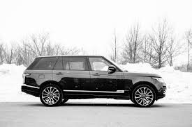 black chrome range rover 2018 land rover range rover autobiography plain rover view photos