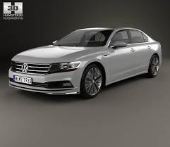 volkswagen phideon 2017 3d model hum3d