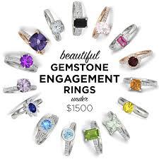 gemstone engagement rings 1500 the budget savvy