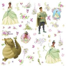 disney princess tiana and the frog wall stickers