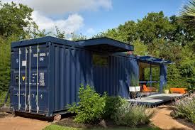 converting shipping containers into homes in a container house