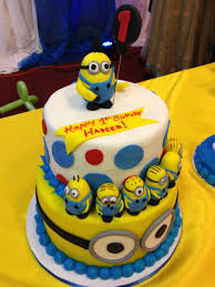 minions birthday cake attractive and most favorite birthday cakes for kids trendy mods