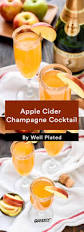 champagne cocktails that one up boring mimosas greatist