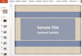 free video scrapbook powerpoint template
