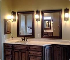 cherry bathroom mirror mirror design ideas deks drawer custom bathroom mirrors oak alder