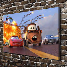 Disney Cars Home Decor Disney Art Home Décor Posters U0026 Prints Ebay