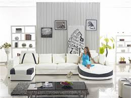 u shaped leather sofa home sofa modern leather sofa large u shaped couches real leather