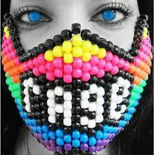 kandi masks custom made rave festival masks for sale