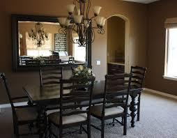 dining room mirror ideas plants in pot flower vase wooden floor