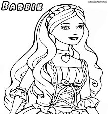 barbie princess coloring pages coloring pages to download and print