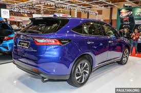 toyota harrier 2016 interior gallery 2018 toyota harrier in malaysia u2013 facelift model 231 ps