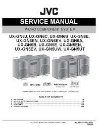 jvc ux gnx5 ux gnx6