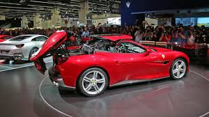 ferrari california 2018 ferrari portofino draws the crowds with its beautiful metal