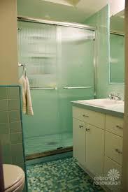 bathroom dark green tile floor lime green mosaic tiles can