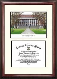 harvard diploma frame harvard mahogany diploma frame lithograph ebay