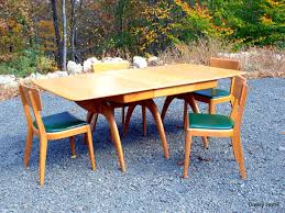 Heywood Wakefield Dining Room Set Mid Century Pink A Cape Cod Home To Call Our Own Mid Century