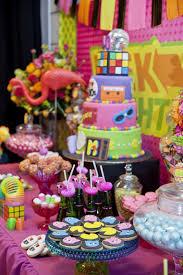 80s Theme Party Ideas Decorations Little Big Company The Blog Little Big Company U0027s 80s Themed
