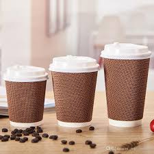 coffe cups hot drinks anti hot 500 disposable tea cups corrugated coffee cups