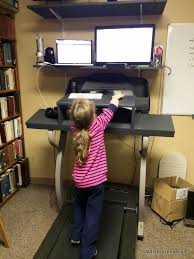 Diy Treadmill Desk Treadmill Desk Walking And Working For One Year Is Learning