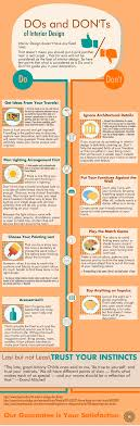 home design do s and don ts infographic the do s and don t of interior design muebles asia