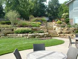 Landscaping Ideas For Slopes Attractive Design For Hillside Landscaping Ideas Hillside