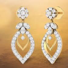 real diamond earrings diamond jewellery samarth jewellery unique engagement rings
