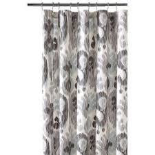 Black Gray Curtains Shower Curtains Shower Accessories The Home Depot