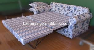 King Size Folding Bed Newest Retractable Saving Space Wooden Slat King Size Sofa Bed
