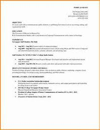 jobs resume exles for college students job resume exles for college students