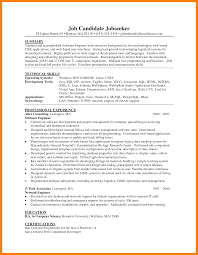 Two Years Experience Resume 100 Software Testing Resume Samples 2 Years Experience