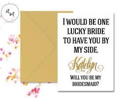 bridesmaids invites bridesmaid invite etsy