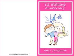 free printable wedding anniversary decorations u0026 invitation templates