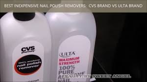 best inexpensive nail polish removers cvs vs ulta for glitter